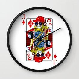 21st Century Jack Wall Clock