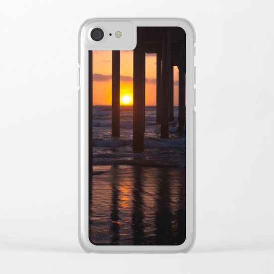 Sunset Captured Clear iPhone Case