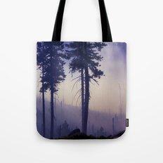 PURPLE FOG #2 Tote Bag