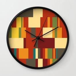 Songbird October Wall Clock