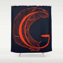 Crest - Cherry Shower Curtain