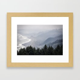 Shades of Obscurity Framed Art Print