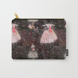 Black dress fashion #5 Carry-All Pouch