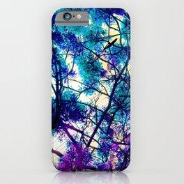Blue Fantasy nature by Lika Ramati iPhone Case
