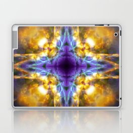 Kaleidoscope star pattern Laptop & iPad Skin