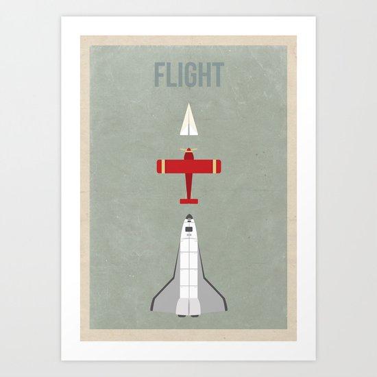 Flight Art Print