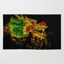 Lantern Parade Dragon Rug