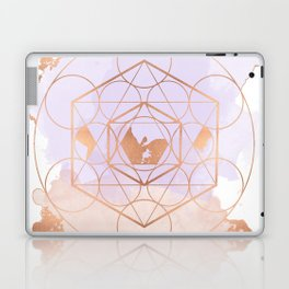 Light Me Up and Away - Copper Rose Gold Laptop & iPad Skin