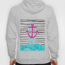 We Have This HOPE - Anchor (pink/blue) Hoody