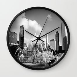 Masterpiece of Chicago Wall Clock