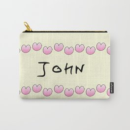 first Name  2 John Carry-All Pouch