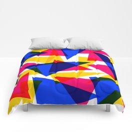 CMYK Shard Comforters