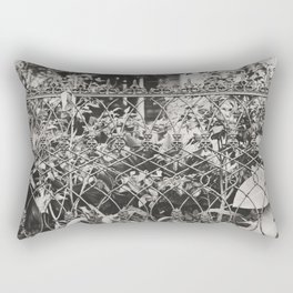 New Orleans Garden District Fence Rectangular Pillow