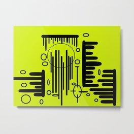 Energy Rods Metal Print