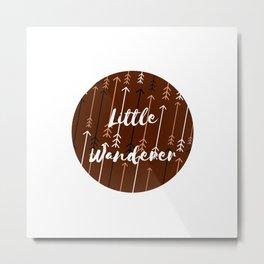 Won't You Wander Back to Me? (Coffee & Cream) Metal Print