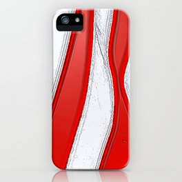 No Stars and All Stripes iPhone Case