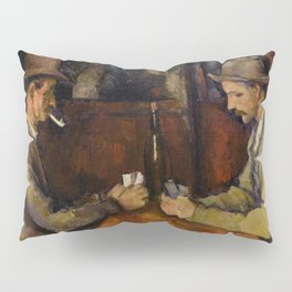 Paul Cézanne - The Card Players - Les Joueurs de Cartes Pillow Sham