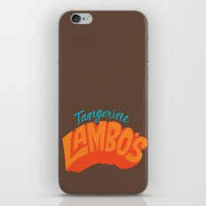 Tangerine Lambo's iPhone & iPod Skin