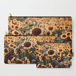Sunflower field II Carry-All Pouch