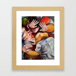 Rumba Framed Art Print