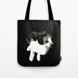 Beware the Demon Cat Tote Bag