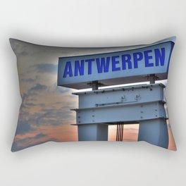 The Cruise Terminal Rectangular Pillow