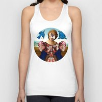 madonna Tank Tops featuring Madonna by DIVIDUS