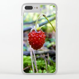 Земляника Clear iPhone Case