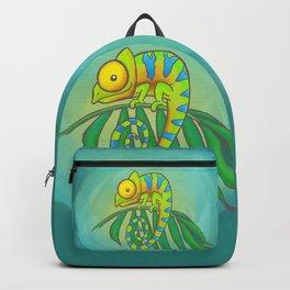 Colorful Chameleon! Backpack