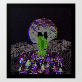 invisible forests Art Print