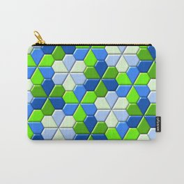 Blues & Greens Carry-All Pouch