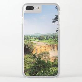 Blue Nile Falls Clear iPhone Case