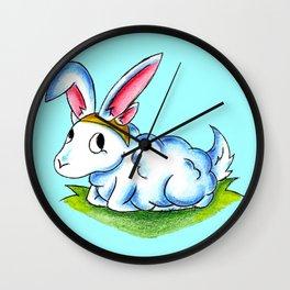 Bunny Fluff Wall Clock