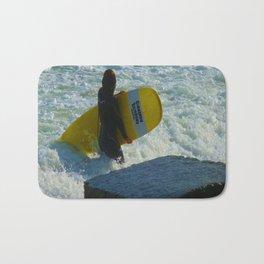 Little Surfer Girl Bath Mat