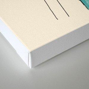 A Study of Squanch Mondernism Canvas Print