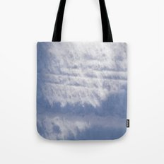 Snowy Treads Tote Bag