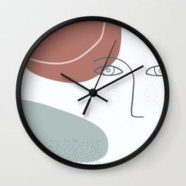 trust the instinct Wall Clock