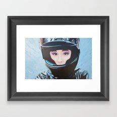 Re-Created Racing Queen by Robert S. Lee Framed Art Print