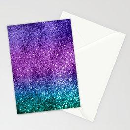 Unicorn Girls Glitter #10 #shiny #decor #art #society6 Stationery Cards