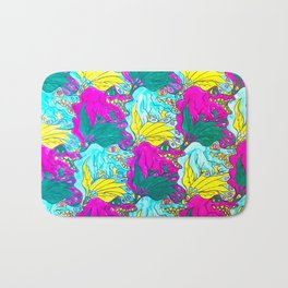 The Alligator Grins / The Peacock Weeps Bath Mat