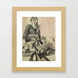 Its all about power Framed Art Print