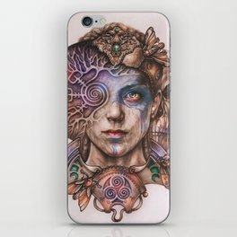 Senua portrait iPhone Skin