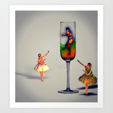 MixMotion: Sparkling Sours Art Print