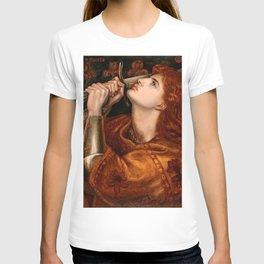 "Dante Gabriel Rossetti ""Joan of Arc"" T-shirt"