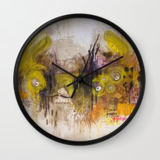 Mean Green Dual Action Minitiger Wall Clock