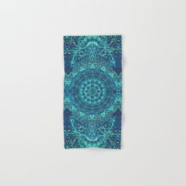 Mandala Sea Hand & Bath Towel