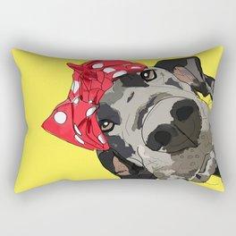 Political Pups - When We All Vote Great Dane Rectangular Pillow