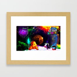 ALL HAIL BACCHUS Framed Art Print