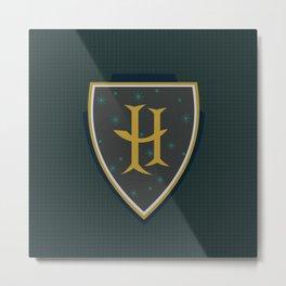 H is for Helga Metal Print