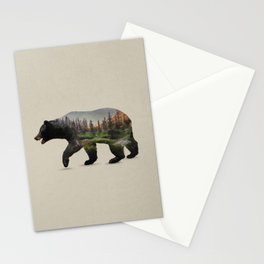 The North American Black Bear Stationery Cards